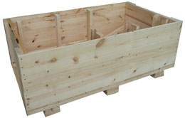 wooden boxes and crates
