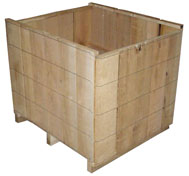 wirebound boxes and crates