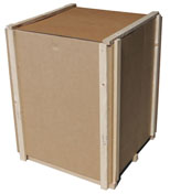 wood cleated corrugated boxes and crates